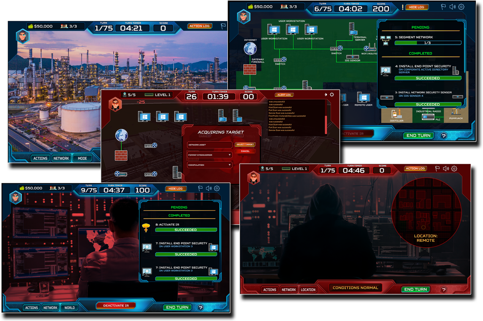 Cybersecurity Gamification